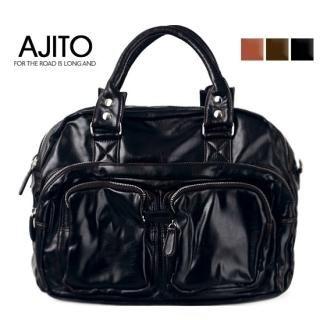 Picture of AJITO Zip Closure Tote 1023040334 (AJITO, Tote Bags, Korea Bags, Mens Bags, Mens Tote Bags)