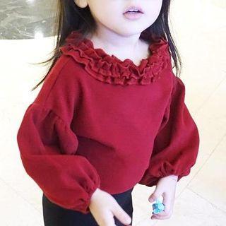kids-frill-trim-long-sleeve-t-shirt