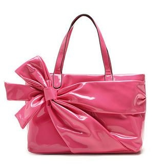 Buy Let's Fly Bow Front Shoulder Bag Peach – One Size 1022786956
