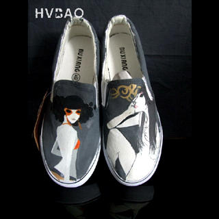 Buy HVBAO  Sexy Girl  Slip-Ons 1021156646