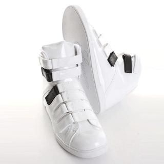 Buy ISNOM High Top Velcro Shoes 1022445737
