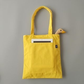 Plain Canvas Handbag 1064290945