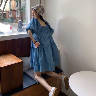 Babydoll | Dress | Blue | Size | One