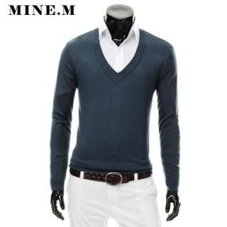 Buy MINE M HOMME V-Neck Knit Top 1022078362