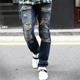 Picture of Groove9 Distressed Jeans 1022462047 (Groove9, Mens Denim, Korea)