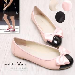 Buy Woorisin Ribbon Front Flats 1022431258