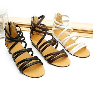 Buy KAWO Strappy Flat Sandals 1022875826