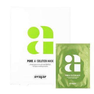 Image of avajar - A-Solution Mask Set - 4 Types Pore