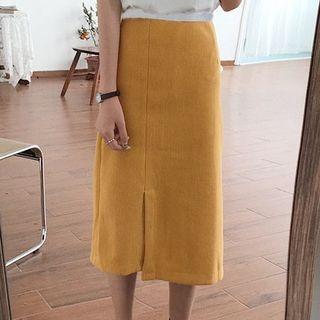 A-Line Slit Skirt 1065771804