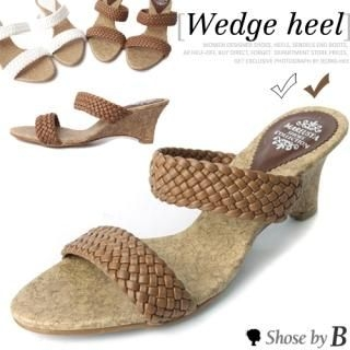Buy Shoes by B Woven Strap Slippers 1022802619