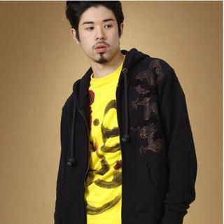 Chinese Dragon Hooded Jacket