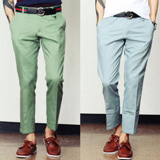 Buy SLOWBABA Cotton Pants Light Beige – S 1023011432