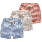 Kids Plaid Shorts 1596