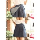 Pleated Wrap Shorts 1596