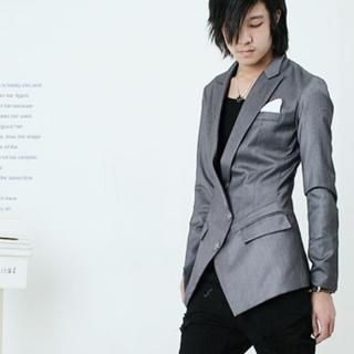 Picture of Groove9 2 Button Blazer 1021299416 (Groove9, Mens Jackets, Korea)