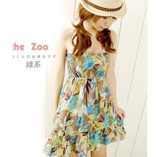 Buy ZOO Strapless Smocked Floral Sundress 1022926604