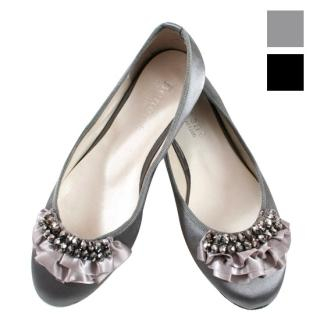 Buy Blingstyle Shoes Satin Flats 1022283797