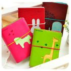 Animal Cutout Notebook (S) 1596