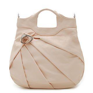Picture of Biyibi Rose Accent Handbag Light Pink - One Size 1022927216 (Biyibi, Handbags, Taiwan Bags, Womens Bags, Womens Handbags)