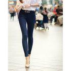 Plain Skinny Pants 1596