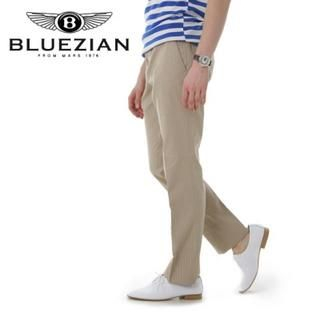 Picture of BLUEZIAN Dress Pants Beige - L 1022702077 (BLUEZIAN, Mens Pants, Korea)