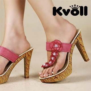 Buy Kvoll Flower-Accent Platform Mules 1022987885
