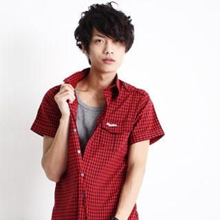 Picture of SERUSH Check Shirt 1022793149 (SERUSH, Mens Tees, Taiwan)