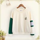 Color-Block Embroidered Sweatshirt 1596