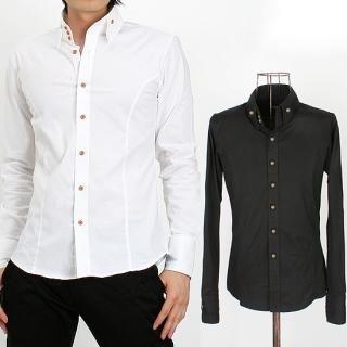 Buy Peeps High Neck Collar Shirt 1021453864