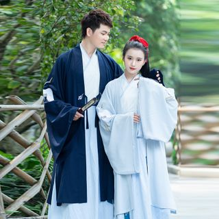 Traditional   Embroider   Chinese   Costume   Couple