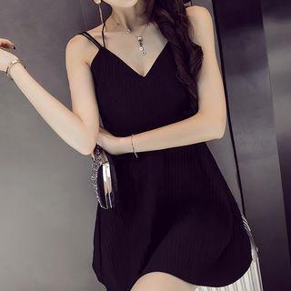 Plain Spaghetti Strap Dress 1061062763