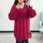 Long-Sleeve Sweater Dress 1596