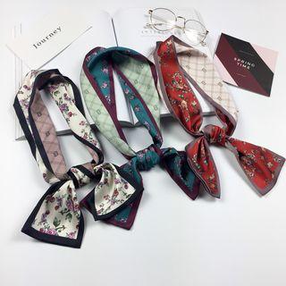 Reversible | Headband | Floral | Scarf | Print | Neck