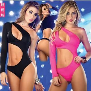 Pole Dance Cutout Bodysuit