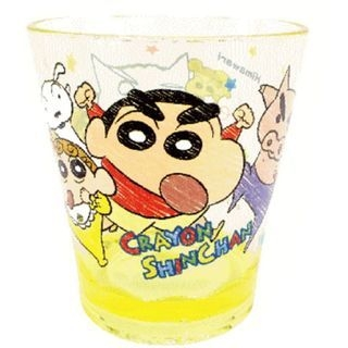 Crayon Shin-Chan Plastic Clear Cup (Yellow) 1059945660