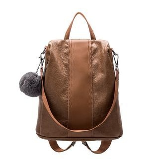 Bobble Genuine Leather Backpack