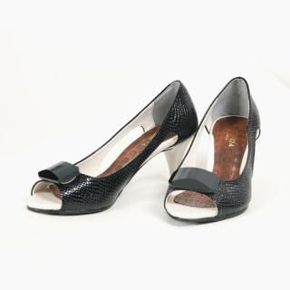 Picture of Bloom Girl Peep Toe Pumps 1023032305 (Pump Shoes, Bloom Girl Shoes, Korea Shoes, Womens Shoes, Womens Pump Shoes)