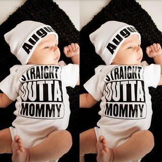 Baby Lettering Bodysuit