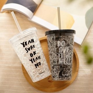 Drinking Cup with Straw 1058216096