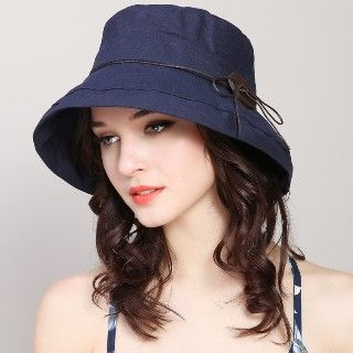 Image of Buttoned Sun Hat