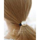 Faux-Pearl Elastic Hair Tie 1596