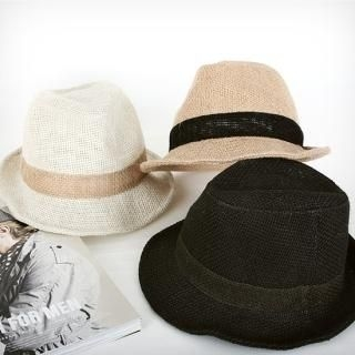 Picture of BoynMen Linen Fedora 1022933447 (BoynMen, Mens Hats & Scarves, Korea)