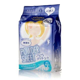Kose - Softymo Powder Sheet (No Scent) 40 pcs