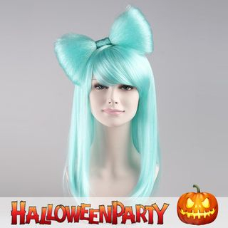 Halloween | Butterfly | Party | Long | Blue | Size | Wig | One