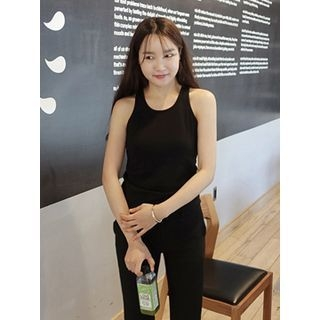 Ribbed Cotton Tank Top 1059524088