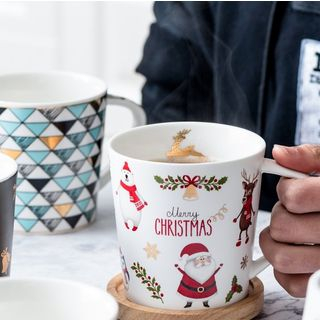 Image of Christmas Ceramic Cup