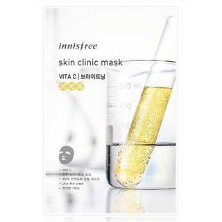 Innisfree - Skin Clinic Mask - Vita C (Brightening) 20ml 1050788041