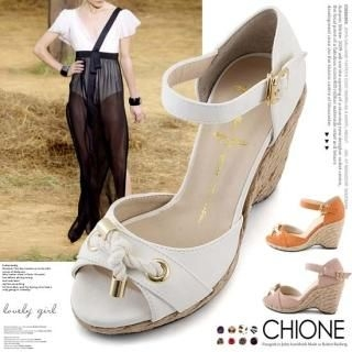 Buy Chione Ankle-Strap Wedge Sandals 1023068311