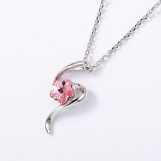 Swarovski | Necklace | Crystal | Pendant | Flower