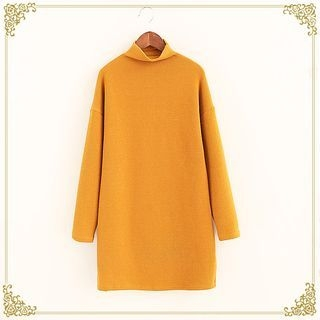 Mock-neck Long-Sleeve T-shirt 1056161173